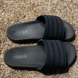 Cloud foam adidas sandals - size 9